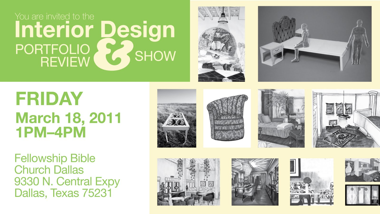 The Next AiD Interior Design Portfolio Show