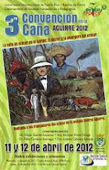 3 ra CONVENCION DE LA CAÑA, Aguirre 2012
