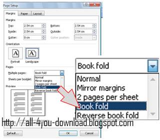 Cara Membuat Buku Dengan Microsoft Word 2007