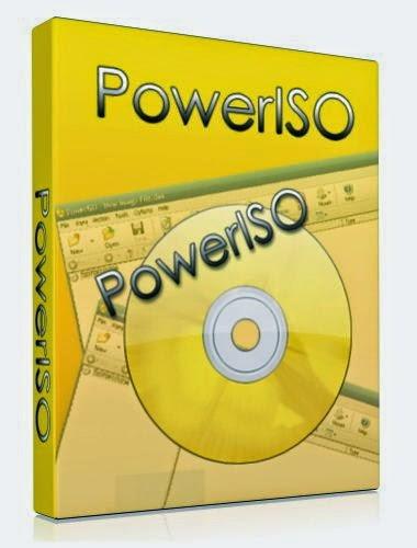 تحميل برنامج PowerISO 6.1 (32-64 bit)+Crack