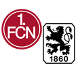 FC Nürnberg - TSV 1860 München