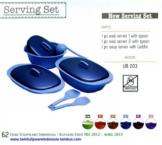 Info & Harga Twin Tulip Tulipware 2014 : New Serving Set