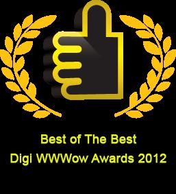 Digi WWWow Awards | The Best of The Best 2012