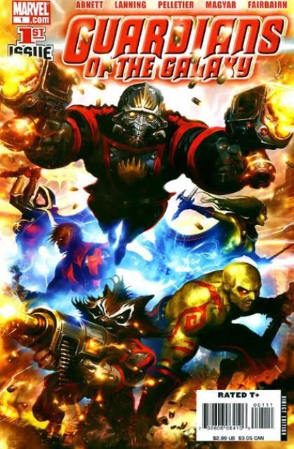 Comic #1 Guardianes de la Galaxia