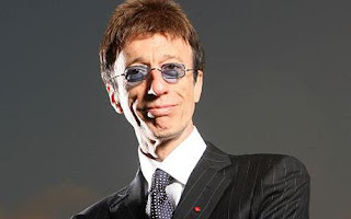 Robin Gibb talks about his cancer