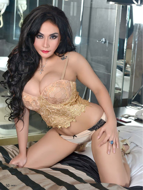 Angelica Zubir Gress Hot