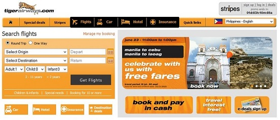 Tiger Airways: Offers the freedom to fly with the FREE AIRFARE Promo