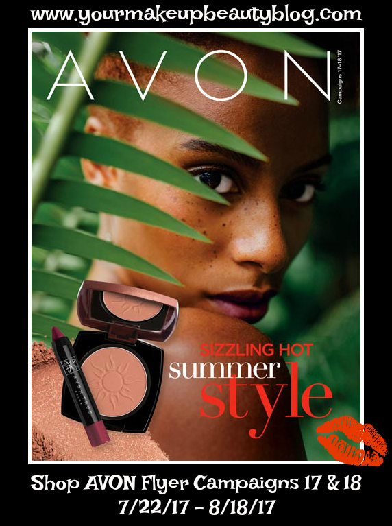 Avon Flyer Sizzling Hot Summer
