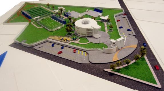 M s noticias construyen nuevo complejo deportivo de san - Complejo deportivo el mayorazgo ...