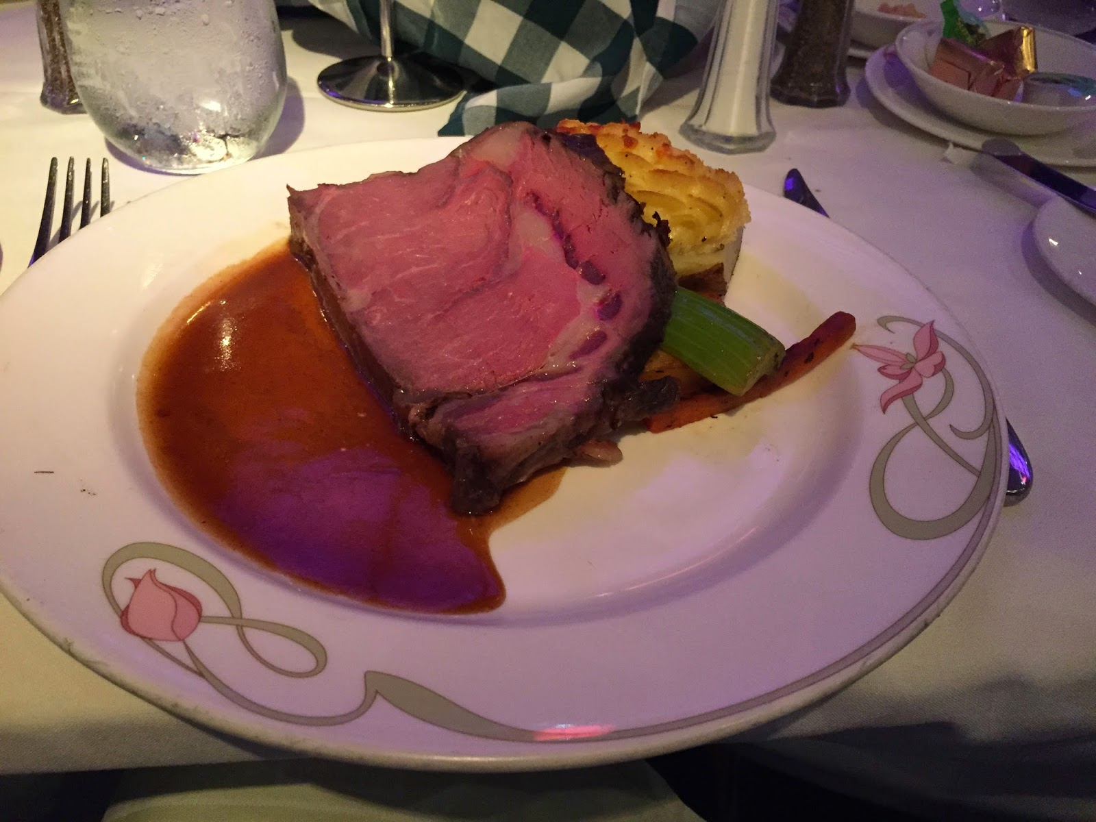 Restaurante  Disney Cruise