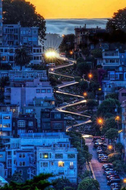Lombard Street, San Francisco, California, tapandaola111