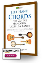 Left Hand Chords for Guitar, Mandolin, Ukulele, Banjo