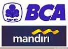 BCA dan Mandiri