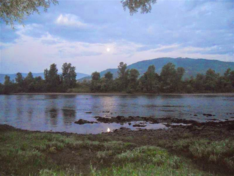 Morning on the river Drina