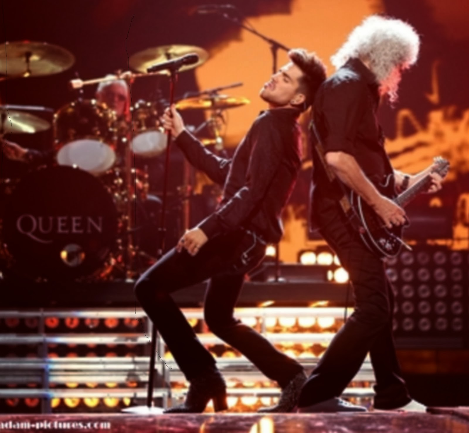 Queen + Adam Lambert at I Heart Radio