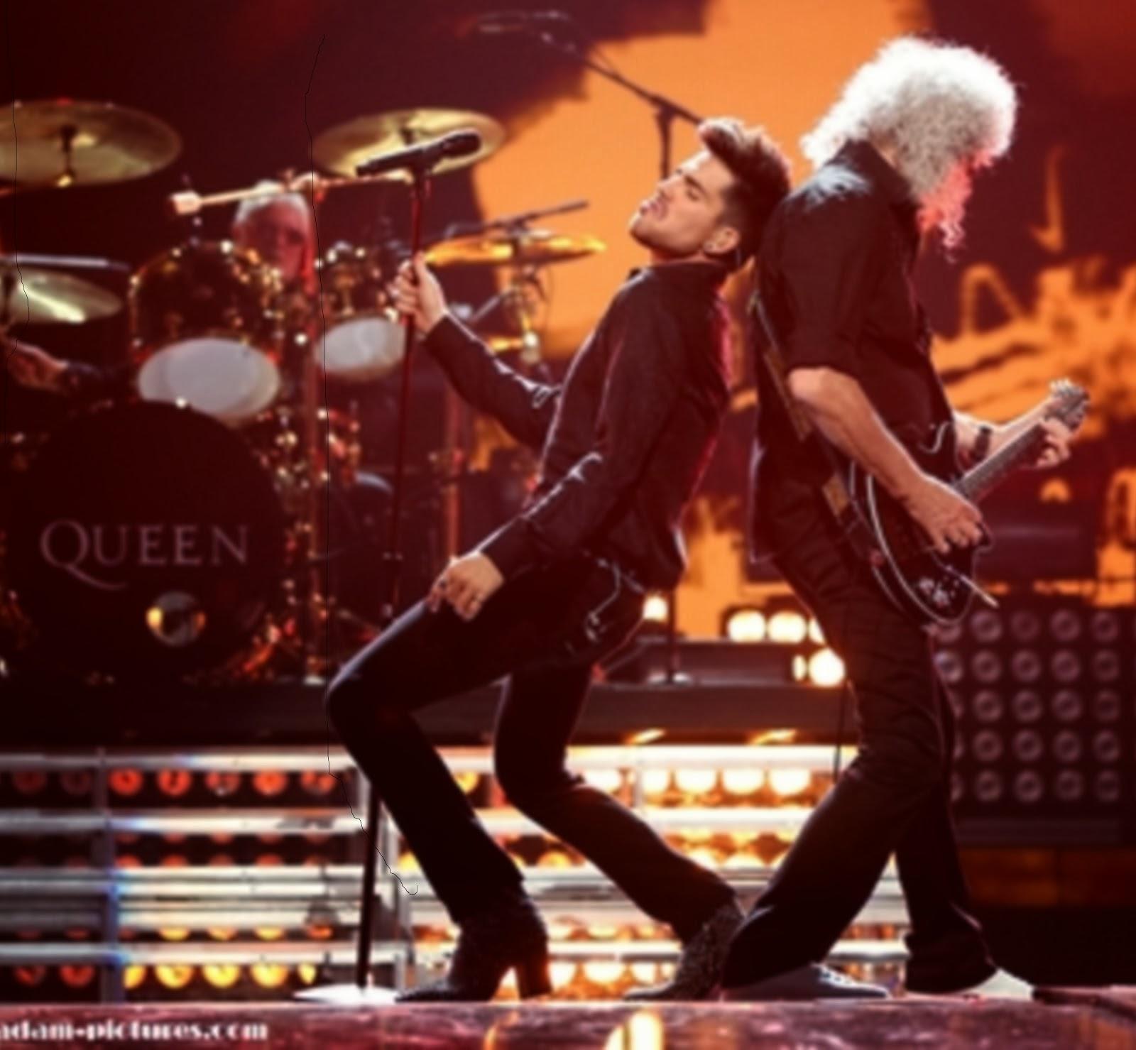 Queen + Adam Lambert at I Heart Radio