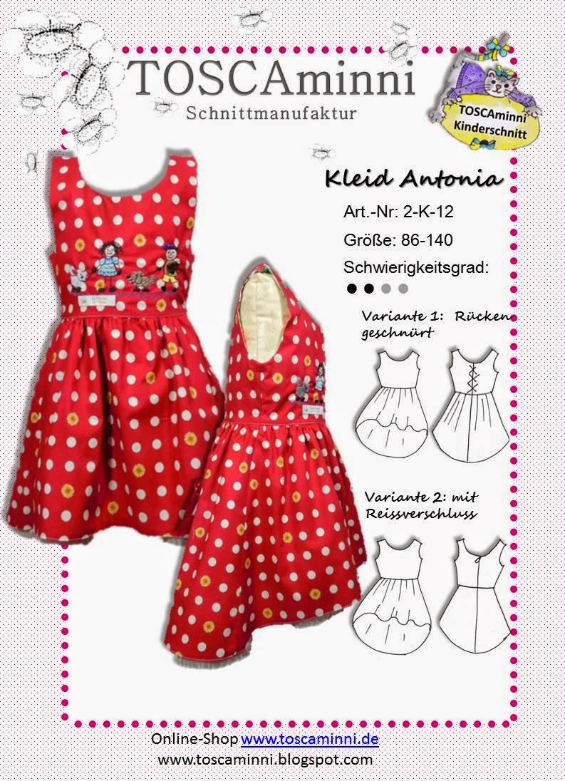 Kinderkleid Antonia Gr. 86-140