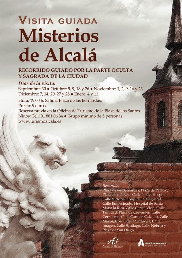 ¿Quien quiere conocer la parte oculta y sagrada que esconde Alcalá?