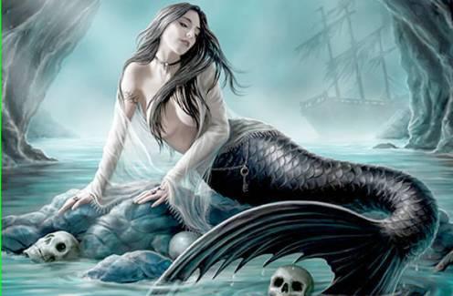 Mitos Siren Monster Cantik dan Seksi Pembunuh pelaut