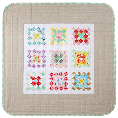 Great Granny Square Quilt - all the details