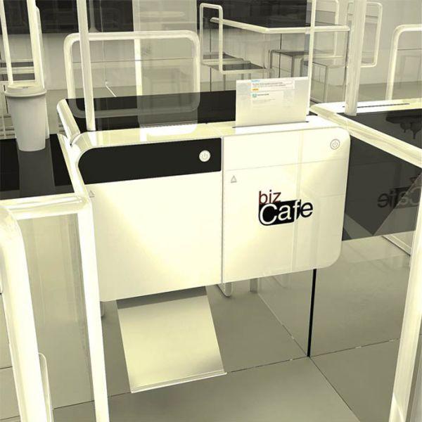 Cafe Masa depan
