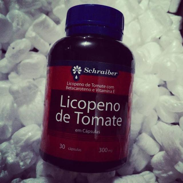 Laboratório Schraiber, Medicamento, Cápsula, Tomate, Licopeno, Recebido, Resenha, Saúde, Schraiber, Vitaminas,