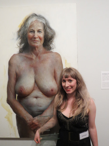 Auntie A Super Realistic Painting Of A Nude Older Lady