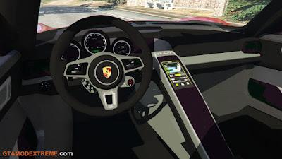 Porsche 918 Spyder 2013 Para GTA V