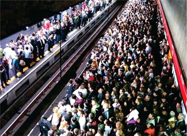 Greve do Metrô em São Paulo - Um Asno
