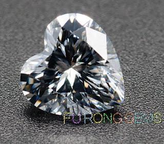 Highest_Quality_Cubic_Zirconia_White_Heart-shape-Gemstones_China_wholesale