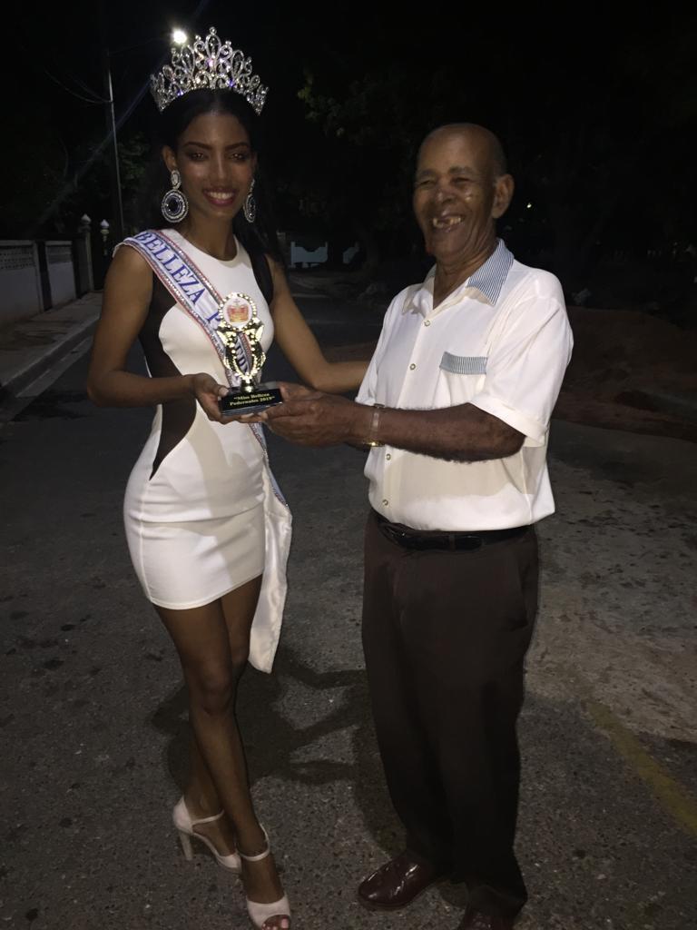 """Iranna Samboy """"Miss Pedernales"""",escogida en medio de una gama de jovencitas el 6 de Julio 2019"""