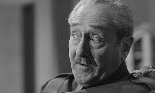 Adolphe Menjou as General George Broulard, Paths of Glory, Directed by Stanley Kubrick