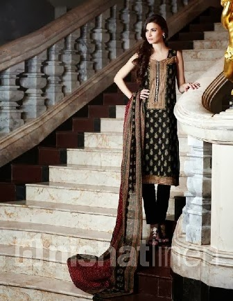 Embroidered Salwar Kameez By Nishatlinen