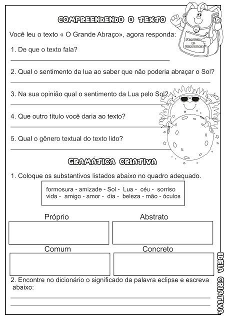 Atividade Texto e Interpretação Encontro Vocálico