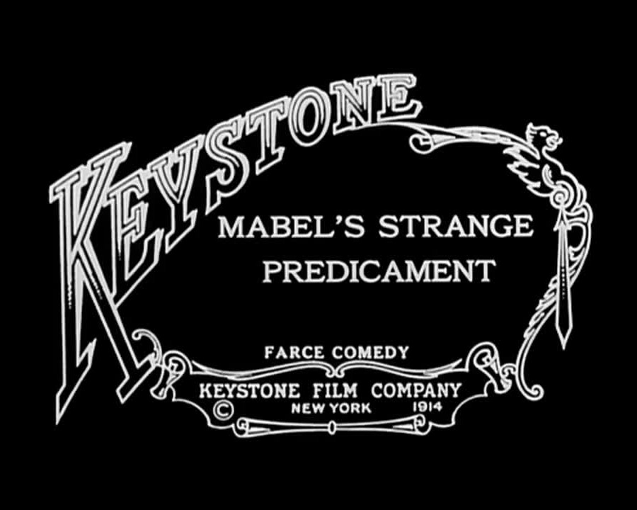 Mabel's strange predicament (1914 film by Mabel Normand) - YouTube