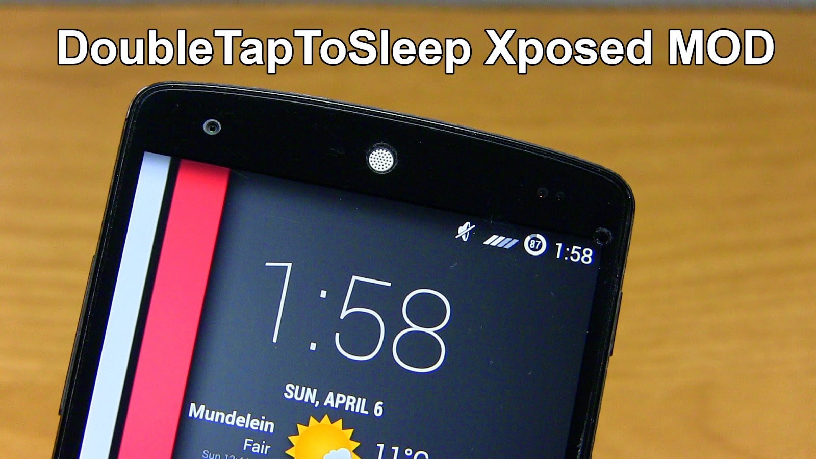 DoubleTapToSleep v1.0 Free Download For Android [XPOSED]