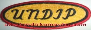 logo atribut bordir komputer UNDIP