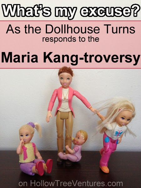 As the Dollhouse Turns responds to Maria Kang by Robyn Welling @RobynHTV