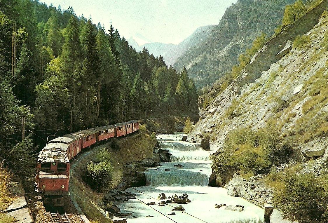 Visp Switzerland  City pictures : The traveler's drawer: [BRIG] VISP ZERMATT Bahn Switzerland
