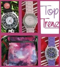 top trenz, tie dye, watches, bling, jewelry