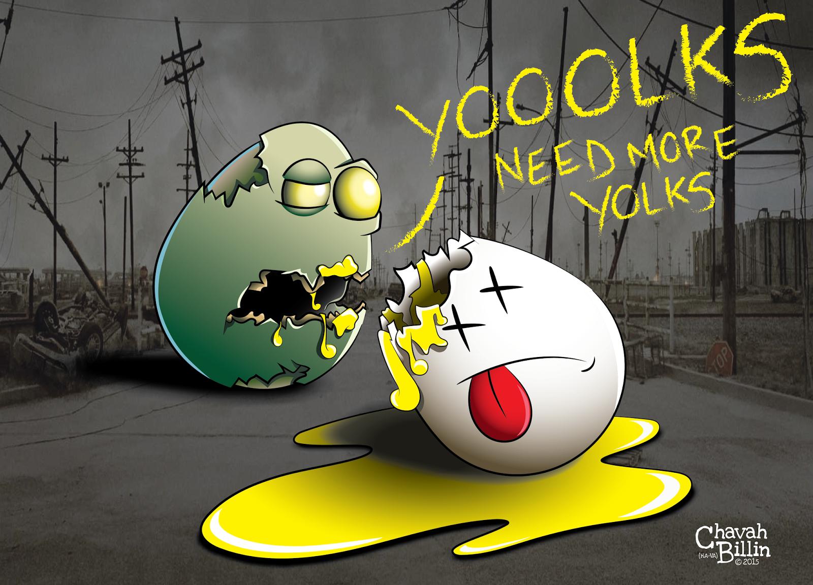 When Eggs Go Bad: The Hard-Boiled Zombie Apocalypse - Easter Resurrection