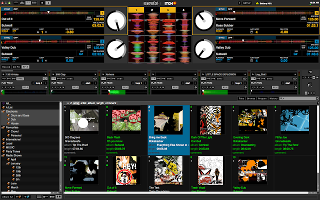 Software Serato Itch 2.0