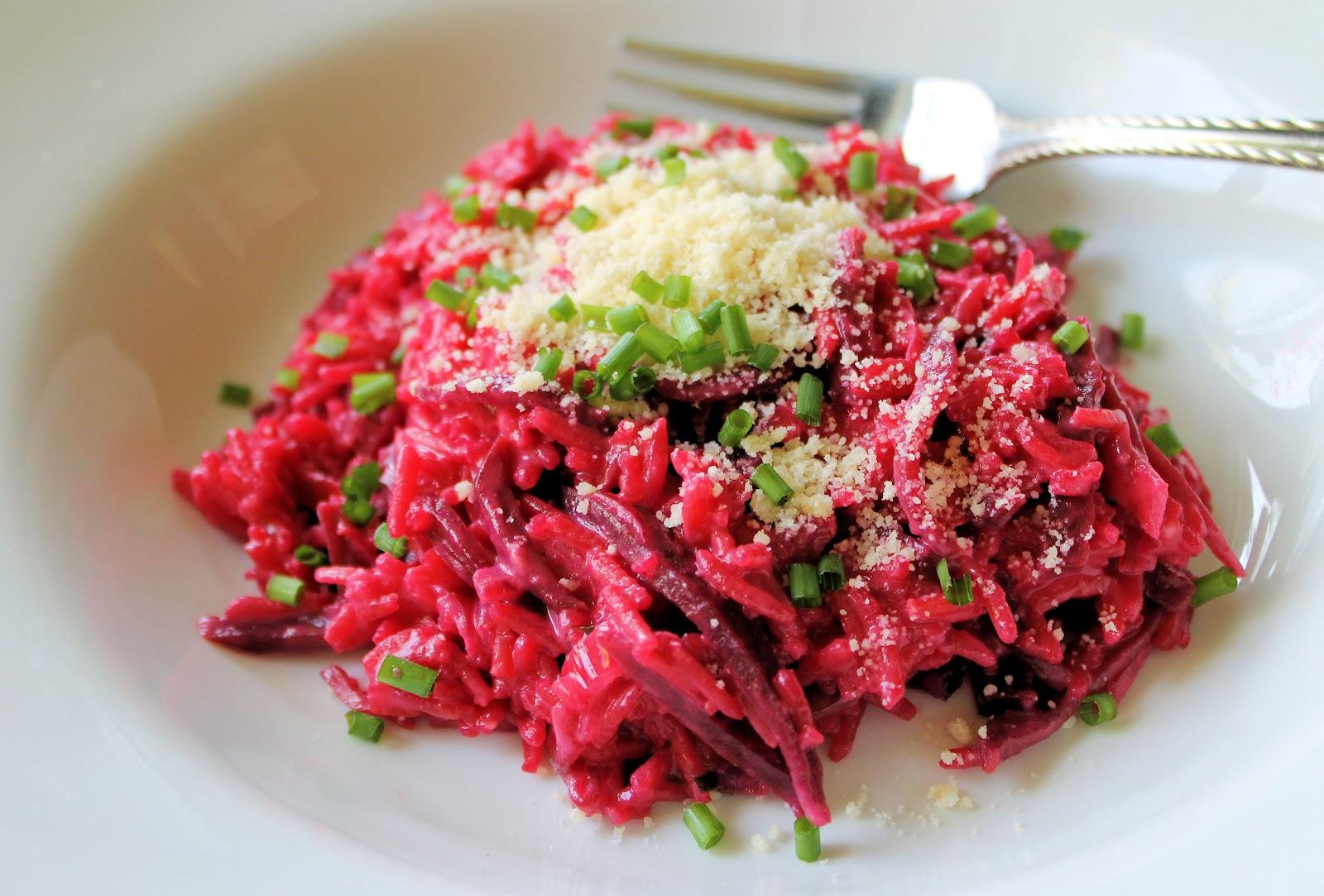 Savoir faire cocinar en technicolor risotto con for Cocinar remolacha