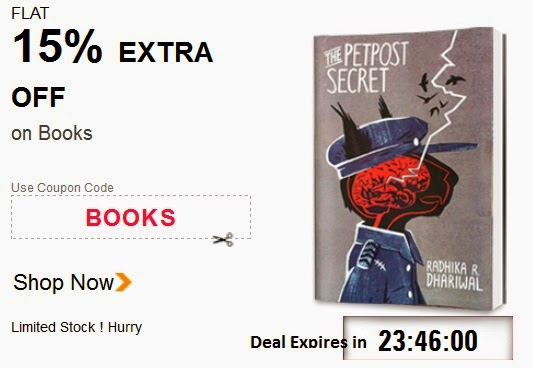 Indiatimes Shopping : Flat 15% off on books