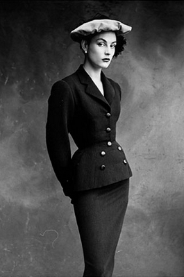 Sleek and Shapely 1950s #50s #suit #vintage #fashion