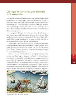 Los viajes de exploración y los adelantos en la navegación - Historia 6to Bloque 5 2014-2015
