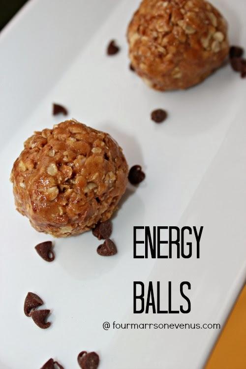 Peanut Butter Homemade Energy Balls