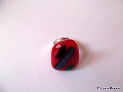 anillo rojo desde arriba