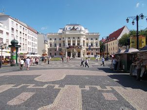"""Slovak National Theatre"" staging the play ""CARMEN"" in Bratislava."