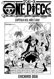 One Piece 853 Mangá Português leitura online